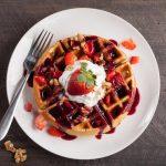 plantain-flour-waffles