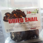 dried snails